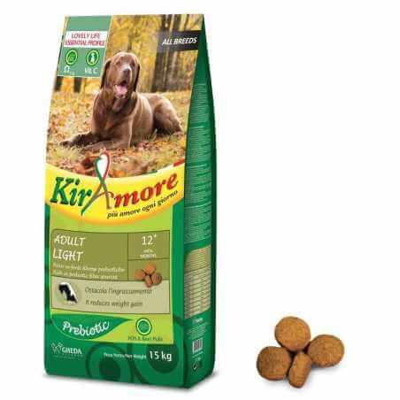 KIRAMORE Dog All Breed Adult Light 3 Kg