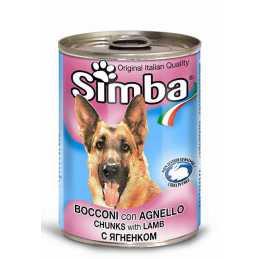 SIMBA CHIEN AGNEAU 415GR