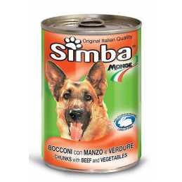 SIMBA CHIEN VEAU 415GR