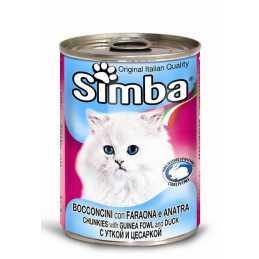 Simba Pintade et Canard 415 gr