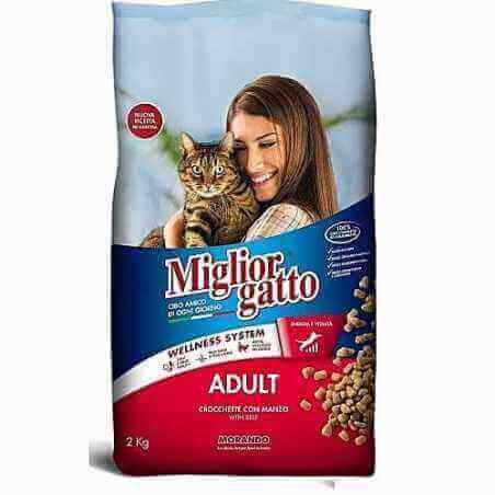 Migliore gatto adult Boeuf 2 kg