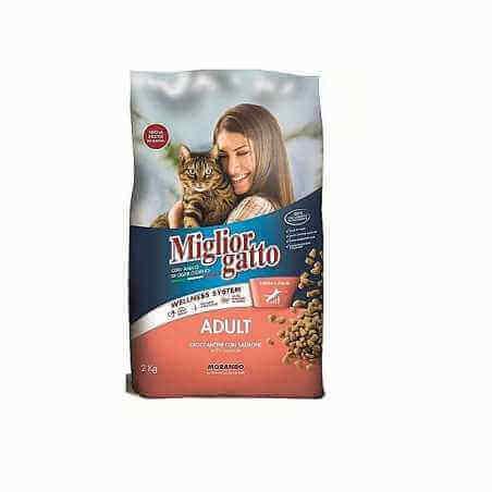 Migliore gatto adult Saumon 2 kg