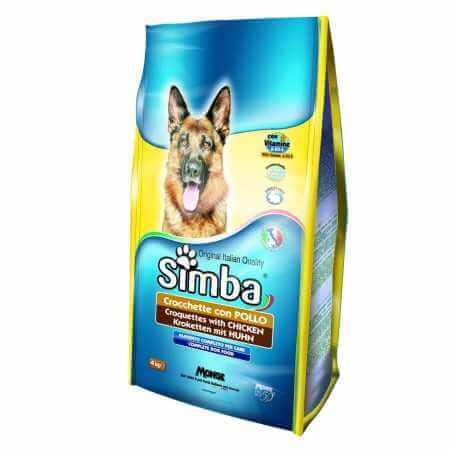 SIMBA DOG CROQUETTES Poulet 10 KG