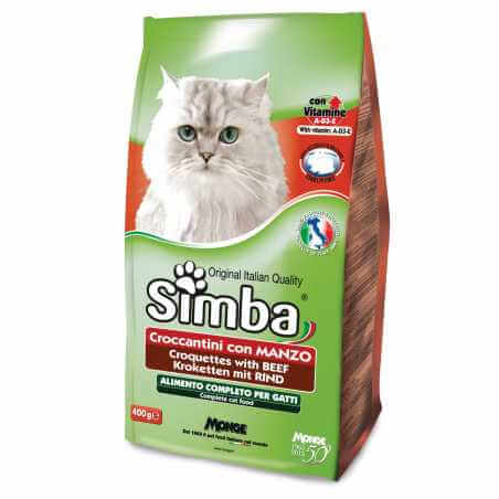 SIMBA Chat CROQUETTES boeuf 400 Gr