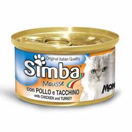 SIMBA CHAT MOUSSE POULET...