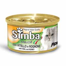 SIMBA CHAT MOUSSE VEAU 85 GR