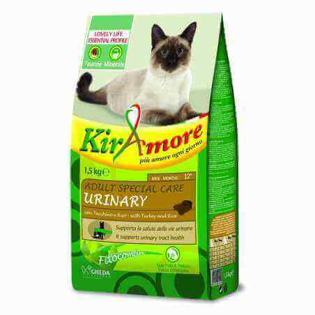 Kiramore Chat Adulte Spécial Care Urinary 1.5kg