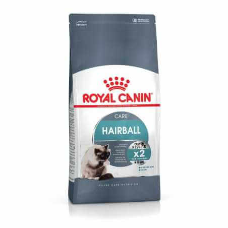 Pack Royal canin CHAT Hairball 2 Kg + 2 pochons gratuit