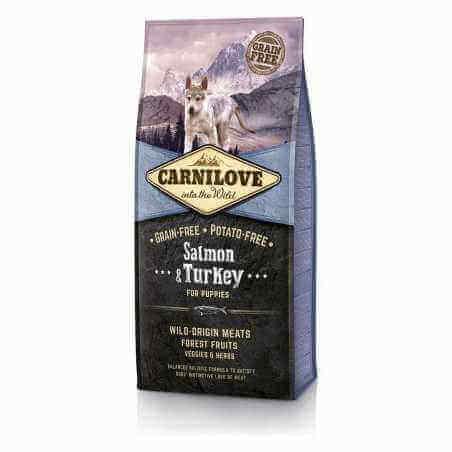 CARNILOVE CHIOT SAUMON & DINDE 1,5KG