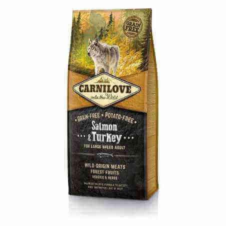 CARNILOVE GRAND CHIEN SAUMON & DINDE 12 KG