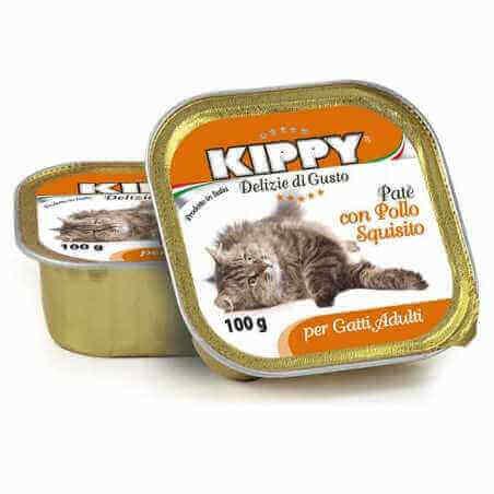 Kippy BARQUETTE CHAT POULET 100 G