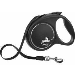 Flexi Black Design L  5m Noir