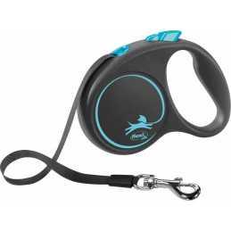 Flexi Black Design L  5m Bleu