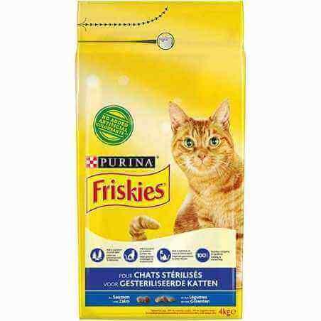 FRISKIES® Chat Stérilisé 1,5 kg