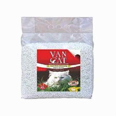 Vancat sac en plastic super white et agglomérante 15 L