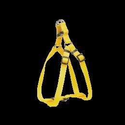 Harnais Nylon small jaune 10mm