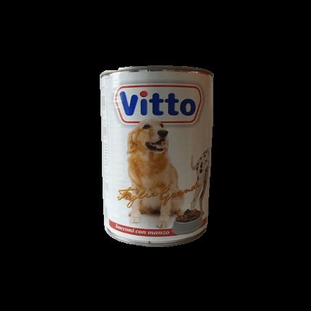 Vitto chiens Bouchées en sauce Bœuf 1250gr